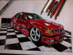 Bmw m3 Car Drawings, Bmw M3, Cars, Vehicles, Projects, Drawings Of Cars, Log Projects, Blue Prints, Autos