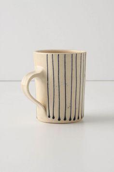 striped mug; anthropologie.