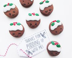 Let's be honest, our favorite part of the holidays is the cookies, and these Christmas Pudding Cookies are topping our list.