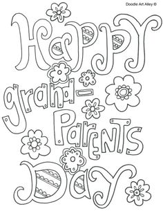 happy grandparents day coloring pages picture happy grandparents day happy valentines day grandma coloring page