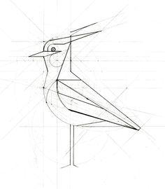 Mechanical Design, Animal Design, Bird Design, Animal Drawings, Art, Geometric Pattern Design, Art Practice, Technical Illustration, Bird Art