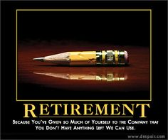 Comics about retirement then again maybe that s a warning for us