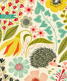 What have I learned at Surtex this year, you ask... well, everyone is bananas over foxes & hedgehogs. I'm bananas over geese & rab...