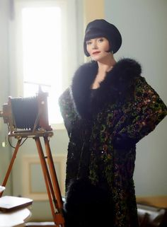 Another to die for coat from Miss Fisher's Murder Mysteries.