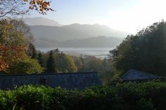 Taliesin | Mawddach Estuary, Snowdonia | Harlech. An astonishingly beautiful view across the Mawddach Estuary to Cadair Idris. Come rain or shine you will enjoy the luxury and comfort of this house all on one floor. http://www.menaiholidays.co.uk/cottages/details/taliesin~overview