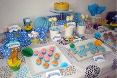 """Mesa dulce con temática """"Hora de aventuras"""" - """"Adventure time"""" themed sweet table"""