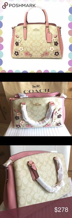 7d879ebbf1b7 Coach Sage Carryall Floral Applique F28970 NWT.🌟 100% Authentic NET.🌟  Coach