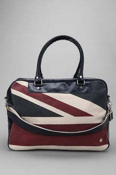 Ben Sherman Union Print Holdall Bag  #UrbanOutfitters