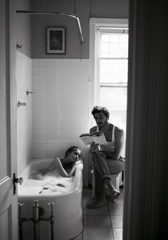 After their relationship ended, he often remembered the time they took a bath together. She sat in the water with her back to him. After a…