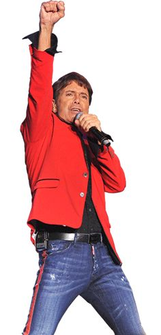 The one and only Cliff Richard.... #myinterfloramum