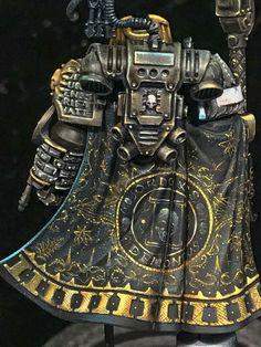 Warhammer Paint, Warhammer 40k Art, Warhammer Models, Warhammer 40k Miniatures, Warhammer Terrain, Minis, Deathwatch, Weathered Paint, Tabletop