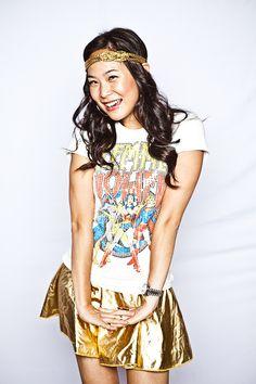 Rethink Romp 2010 | superhero #gold #headpiece #skirt #creative #inspiration #ideas #crimsonphotos | Photography By: Crimson Photos