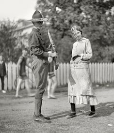 Arms and the Girl: 1915  National Guard, D.C.