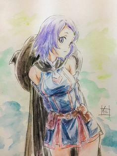 Shihoru-Hai to Gensou no Grimgar Fantasy Books, Fantasy World, Fantasy Art, Manga Girl, Manga Anime, Anime Girls, Grimgar, Character Inspiration, Character Design
