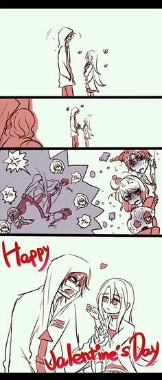 [Truyện tranh][RPG Horror] Doujinshi - [Angels Of Death] Ngày Valentine Manga Anime, Otaku Anime, Angel Of Death, Cute Couple Comics, Rpg Horror Games, Satsuriku No Tenshi, Anime Angel, Anime Ships, Doujinshi