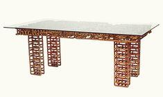 copper tubing coffee table - Cerca con Google