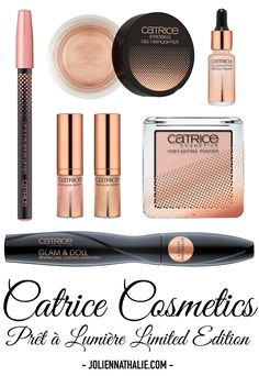 Catrice Prêt à Lumière Limited Edition Makeup - http://www.joliennathalie.com/2016/11/catrice-cosmetics-pret-a-lumiere-limited-edition-makeup-collection.html