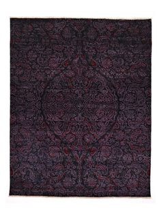 """Suzani Hand-Knotted Rug (8'0""""x10'1"""") by Madison Rugs at Gilt"""