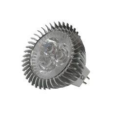 Σποτ+MR16+LED++3X1W+12VDC+Θερμό+Λευκό Led