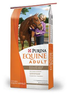 Image of Equine Adult® Horse Feed package