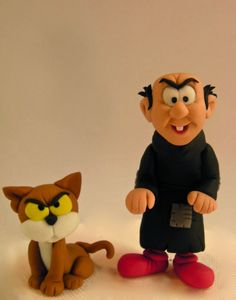 "Studio ""FONDANT DESIGN ANA"" - Figurice za torte (fondant figures): THE SMURFS (STRUMPFOVI) 3D by Peyo - FONDANT FIGUR..."