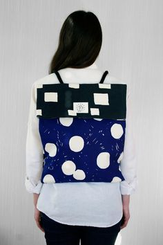 Bag from Finland. Finnish designer Antti Kalevi and his <3. Reppureppu via Kauppakauppa. Click on the image to see more!