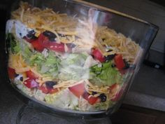 Layered Taco Salad — Blog: Quick, Easy & Healthy Dinner Recipes for Moms & Kids — FamilyEducation.com