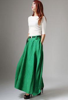 Maxi Skirts-Long Skirts-Skirts-Maxi Skirt-Bohemian by xiaolizi