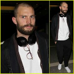 Jamie arriving at LAX 1/29/16 for Fifty Shades Darker promo