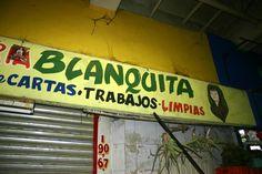 Blanquita Market stand mercado Juarez, Monterrey, Mexico