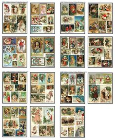Risultati immagini per christmas dollhouse printies