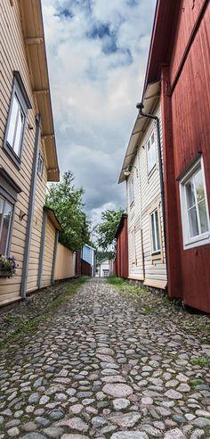 Old Porvoo back alley
