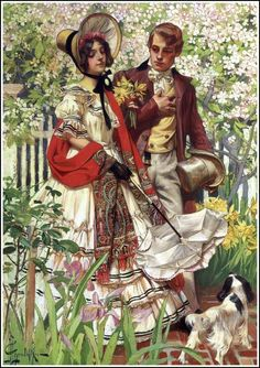 Artworks of Joseph Christian Leyendecker