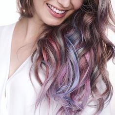 Loving @karimamckimmie's unicorn hair! #hairromance #haircrush