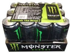 Monster Energy-Energy Drink Formula, 24/16oz Cans: Amazon.com: Grocery & Gourmet Food