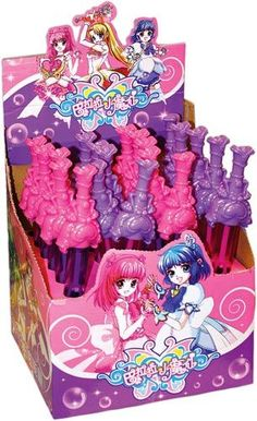 Large princess bubble wands http://www.wfdenny.co.uk/p/large-princess-bubble-wand/5064/