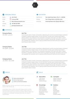 This resume template is intended for your personal use. Please do not sell or redistribute it.The file format is .ai and it uses Proxima Nova (Regular & Light). Open sans will work nicely as an alternative font choice.Enjoy!