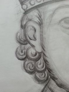 Photo Writing Icon, Pencil Drawings, Art Drawings, Byzantine Icons, Painting People, Painting Process, Orthodox Icons, Medieval Art, Hair And Beard Styles