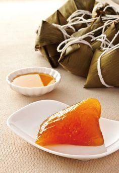 alkaline zongzi (rice dumpling) | Taiwanese Food {recipe in Chinese}