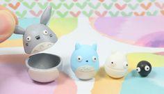 Totoro Nesting Dolls Polymer Clay Tutorial
