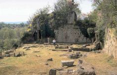 the Lyceum- the remains of Aristotle's School