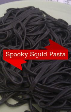 Using black spaghetti, Mario Batali shared a spook-tacular recipe for Spooky Squid Pasta, a Halloween-themed pasta dish!