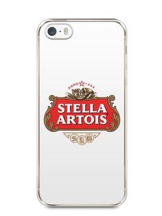 Capa Iphone 5/S Cerveja Stella Artois - SmartCases - Acessórios para celulares e tablets :)