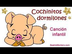 ▶ Cochinitos dormilones - Canciones infantiles - Nanas - YouTube