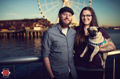 Seattle Engagement Photography - www.bouncyrobot.com