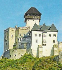 Trencina Castle in Slovakia