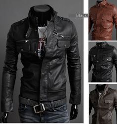 Leather Jacket – Trade Guy