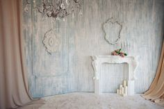 Студия Веранда, Каминная комната. Фотостудия для портретной, семейной и детской съемки в центре Москвы.