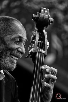 "didierleclair: "" ""EXPERIENCE MAKES JAZZ BETTER"" Ron Carter, great musician Source of pic: pinterest.com """