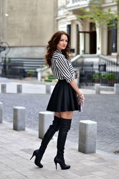 1ea590c7873 Boots Every Woman Should Have. Thigh High Boots OutfitKnee ...